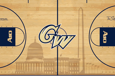 George Washington Announces New Court Design