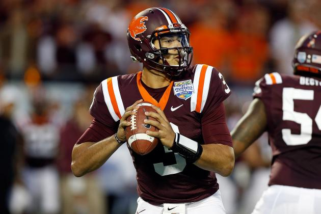 What Virginia Tech QB Logan Thomas Must Fix to Improve in 2013