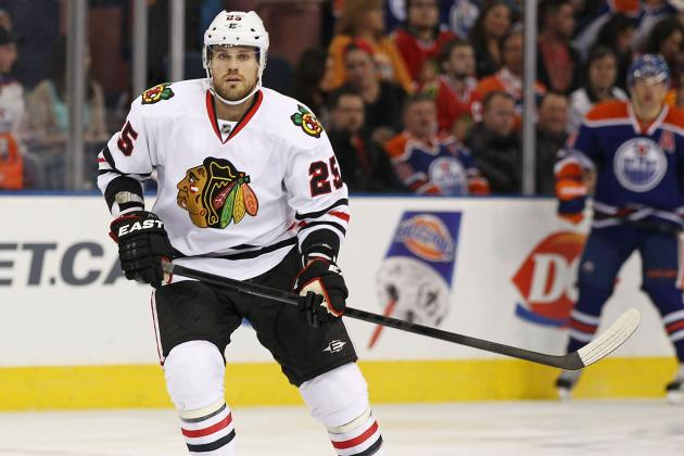 Stalberg, Handzus Both in Blackhawks' Game 3 Lineup