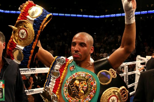 Andre Ward Decides to Relinquish WBC Super Middleweight Emeritus Title