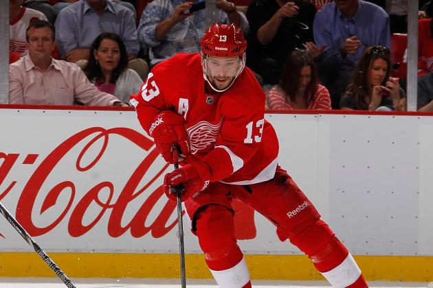 Datsyuk Representing Wings in Semifinals of EA Sports NHL 14 Cover Voting