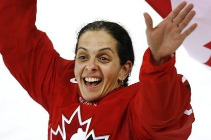 Danielle Goyette Becomes Third Canadian Woman Inducted into IIHF Hall of Fame