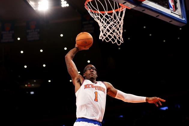 Amar'e Stoudemire Continues to Be Huge Problem for New York Knicks
