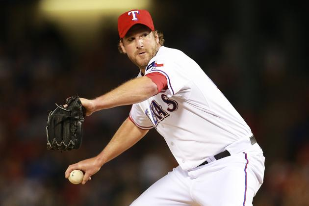 Rangers Designate Derek Lowe for Assignment