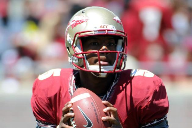 FSU Two-Sport Star Jameis Winston Throws Out Clemson Baserunner