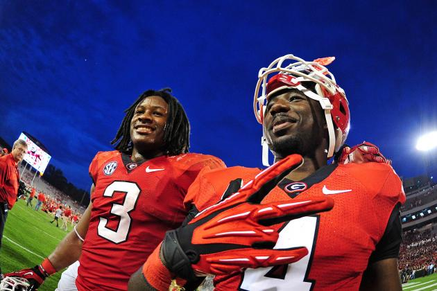 Todd Gurley vs. Keith Marshall: Breaking Down Their NFL Prospects
