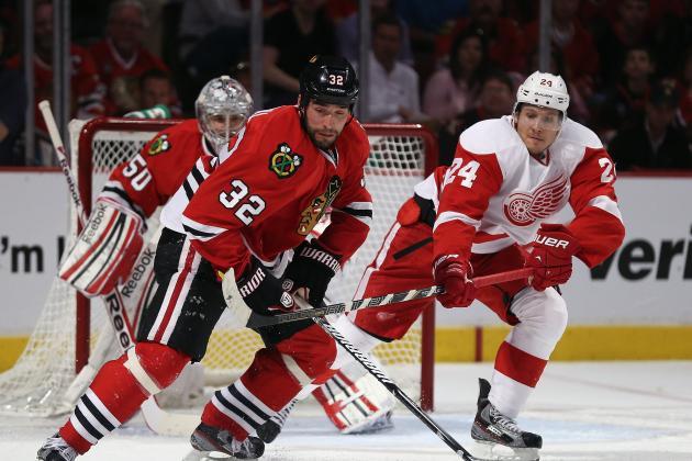 ESPN Gamecast: Red Wings vs. Blackhawks