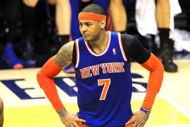 What's Next for Carmelo Anthony After Playoff Disappointment with NY Knicks?