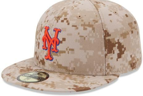 Mets Will Wear Pixelated Camouflage Hats on Memorial Day