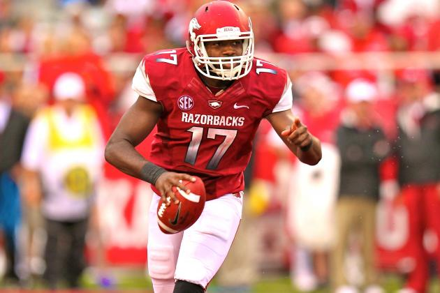 Former Arkansas QB Mitchell to Enroll at NC State
