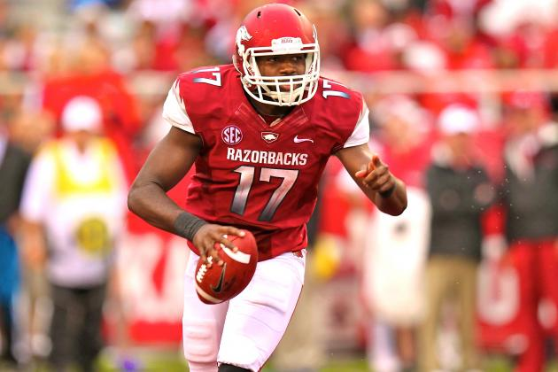Former Arkansas QB Brandon Mitchell Reportedly Will Transfer to NC State