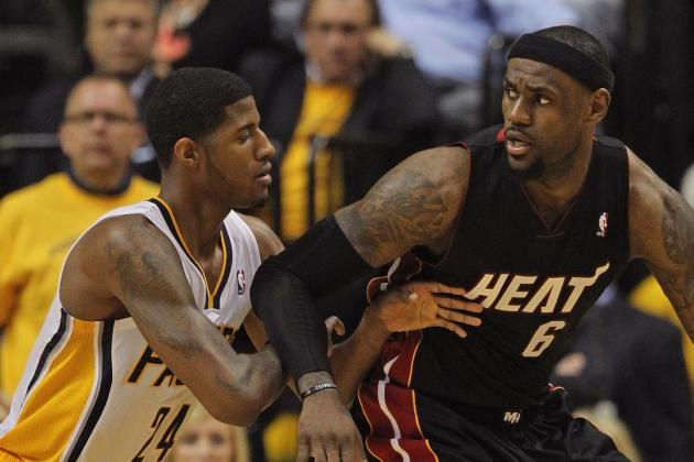 Paul George Looking Forward to Matchup with LeBron