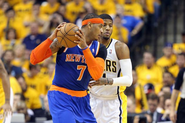 Carmelo Anthony and New York Knicks Isolated Themselves out of NBA Playoffs