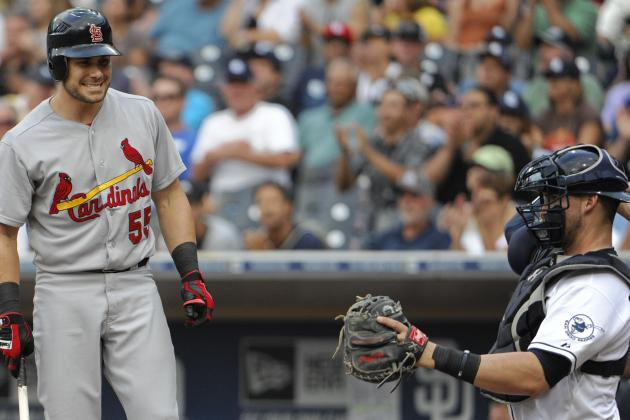 ESPN Gamecast: Cardinals vs. Padres