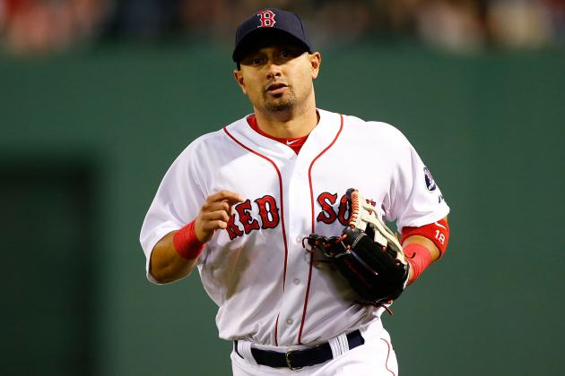 Shane Victorino Exits Game in Sixth Inning with Apparent Injury