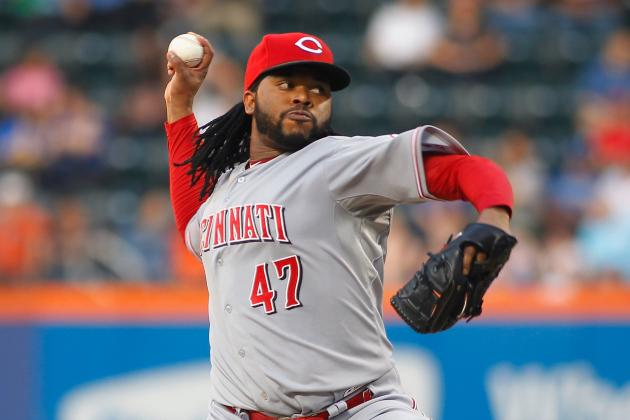 Bruce, Reds Edge Mets as Cueto Returns