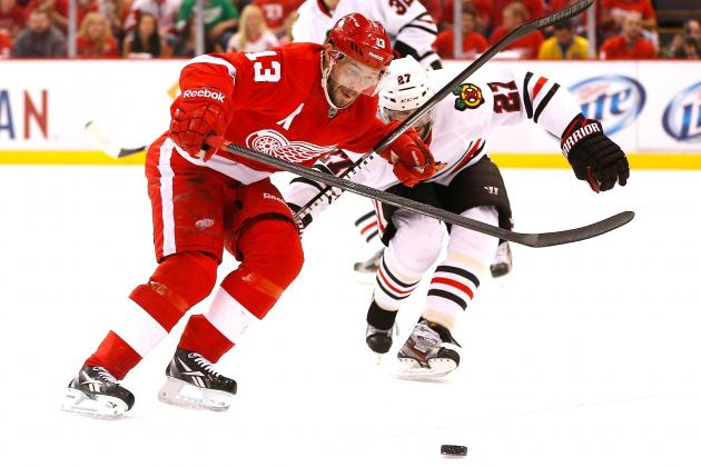 Chicago Blackhawks vs. Detroit Red Wings Game 3: Live Score, Updates, Analysis