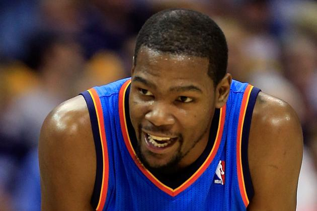 Durant, Thunder Players Tweet out Support for Oklahoma City