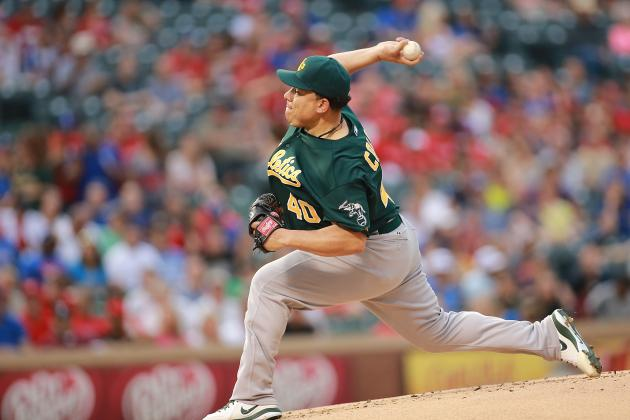 Bartolo Colon Bullies First-Place Rangers, A's Win 9-2