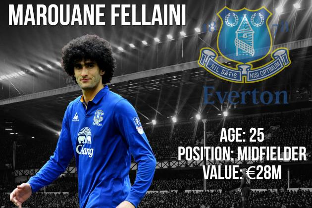 Marouane Fellaini: Summer Transfer Window Profile and Scouting Report