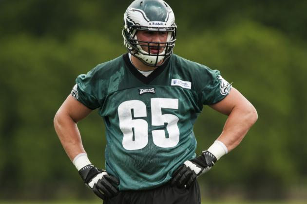 Top Pick Lane Johnson Still Working with Second Team
