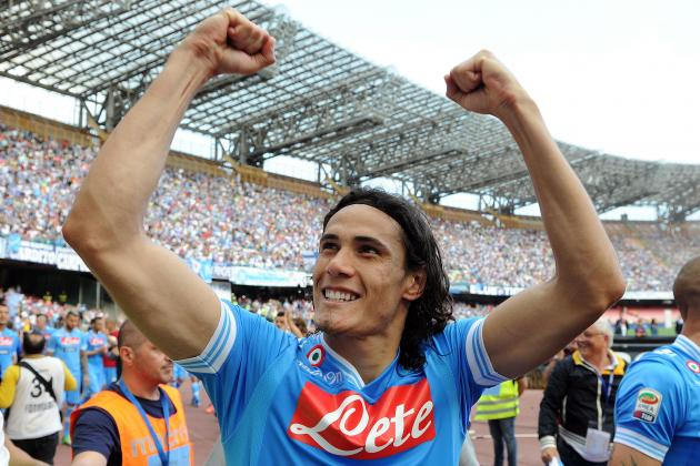 Cavani Could Be Part of Swap Deal with City's Dzeko, Says Napoli President