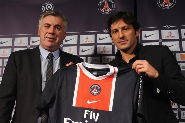 PSG Hope for Ancelotti U-Turn