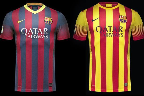 Mes Que Un Shirt: Barcelona Reveal New Shirts for 2013/14