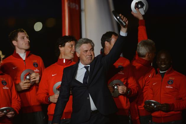 PSG Want €7.5m for Ancelotti