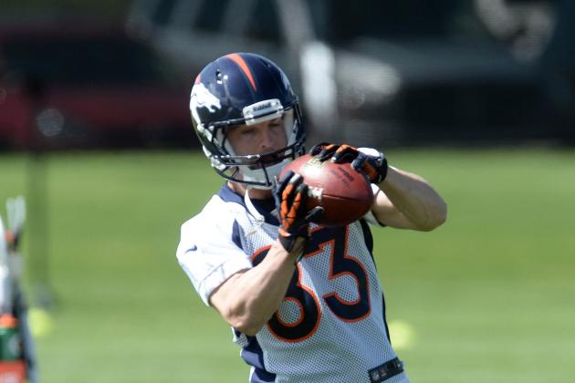 Broncos, with Overflowing Riches at WR, Plan to Pressure Opposing D's