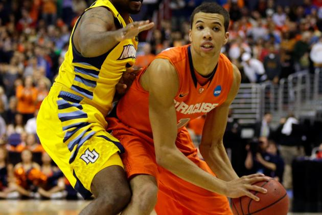 Carter-Williams Will Attend the NBA Draft Lottery Tonight