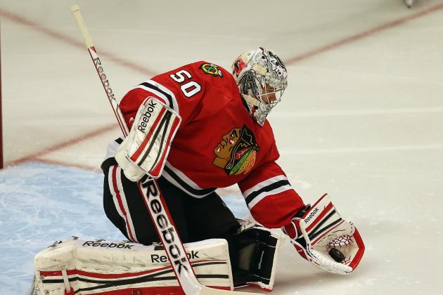 Quenneville: 'Hawks Aren't Talking About Goalie Change, Crawford Is 'Fine'