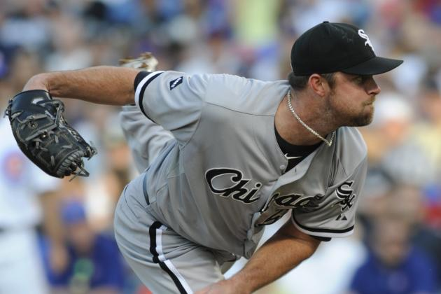 Report: Danks Will Make Season Debut Friday in Chicago