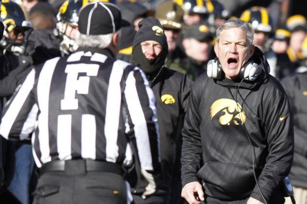 Iowa Coaches 5th-Highest Paid in B1G