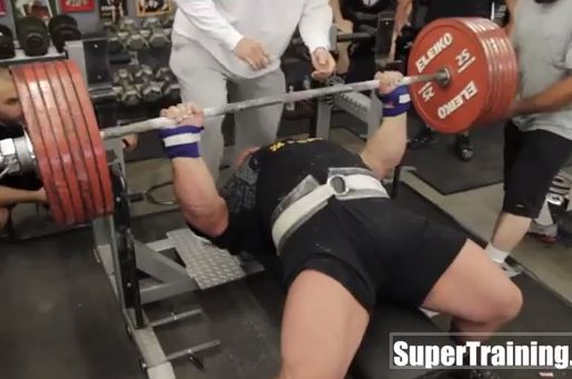 Massive Marvel Eric Spoto Breaks World Record with 722-Pound Bench Press