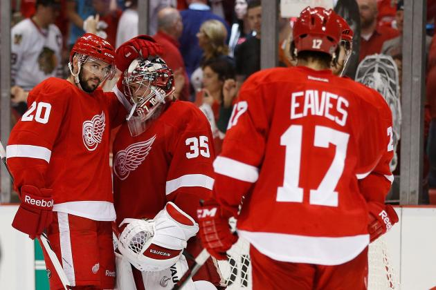How the Detroit Red Wings Are Leading the Series