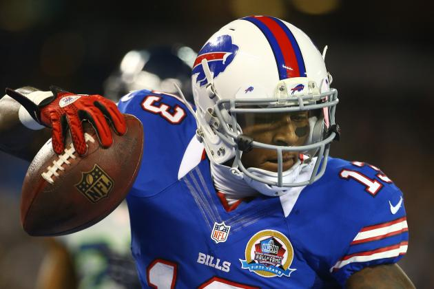 Stevie Johnson Back on Field at OTAs