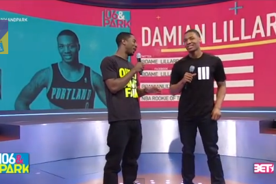 VIDEO: Damian Lillard on BET's '106 & Park'