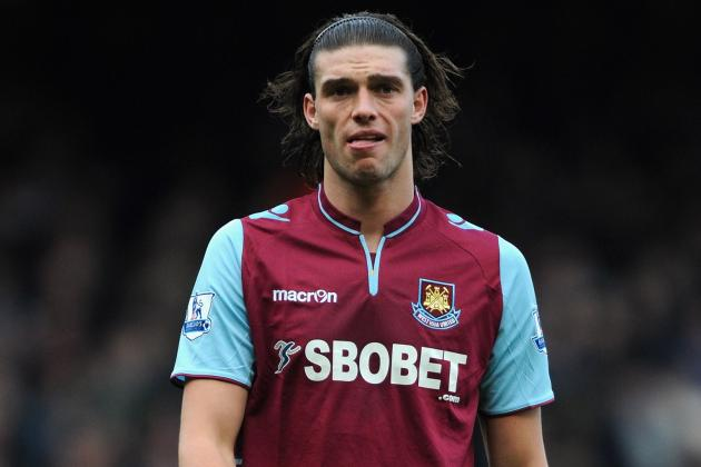 England's Andy Carroll Ruled out of Brazil Clash with Injury