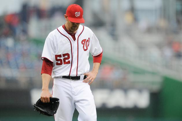 Nationals' Ryan Mattheus Loses Fight with Locker, Hits DL with Broken Hand