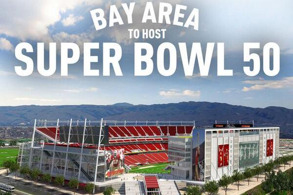 Bay Area to Host Super Bowl L
