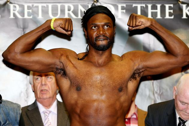 Audley Harrison Un-Retires; 'Can't Walk Away'