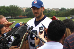 Romo Speaks With Media About Injury, Recovery Timetable