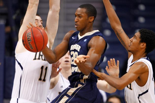 GW Transfer Lasan Kromah Heads to UConn, Can Play Right Away