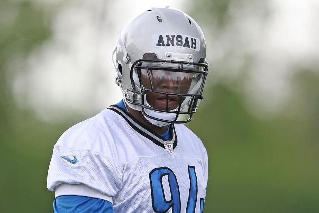 'Ziggy' Ansah Has a Good First Day with the Vets