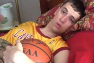 Cavs Fan Earns Trip to Draft Lottery with YouTube Plea