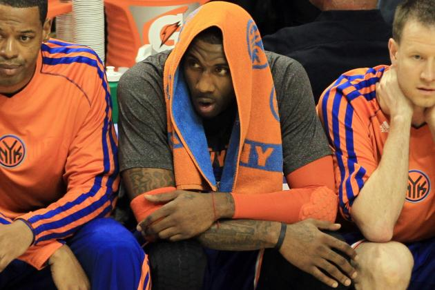 Knicks Unsure If Amar'e Can Start Next Season