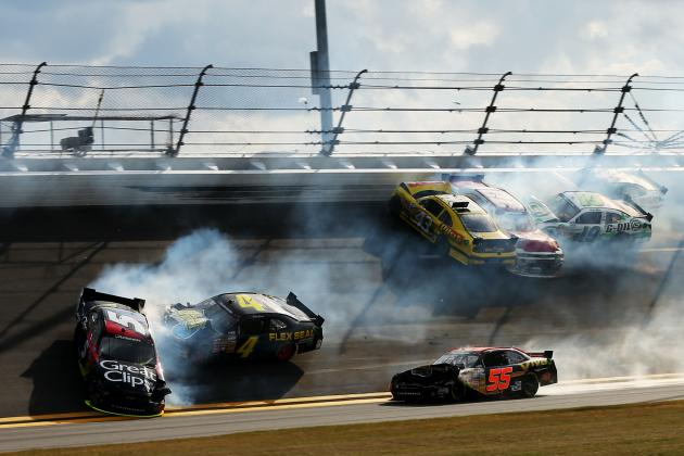 Annett Back 9 Races After Daytona Wreck