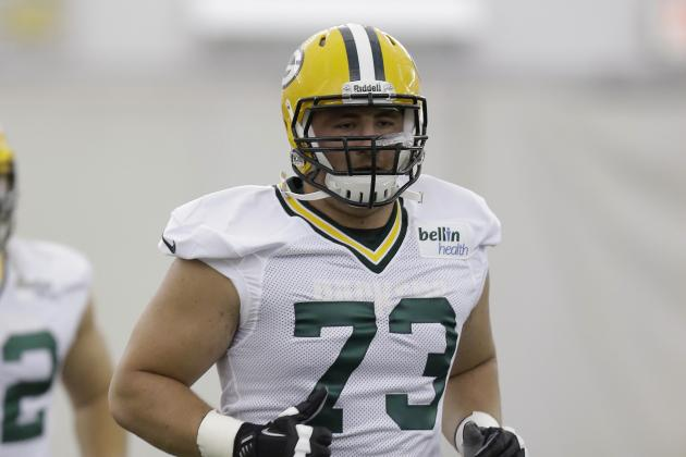 Rookie Lineman, JC Tretter, First Casualty of Spring