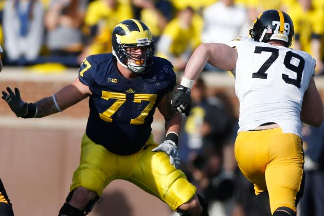 Michigan's Taylor Lewan Named 4th Biggest Freak by CBS Sports